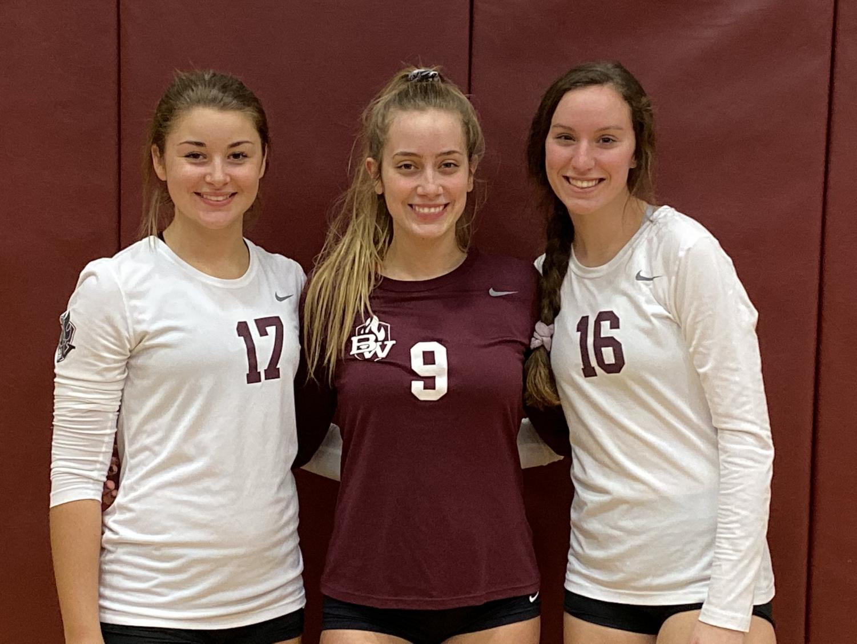 Girls Volleyball has Senior Night