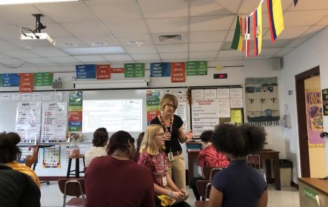 Dr. Etter Introduces Flexible Seating Into Her Classroom