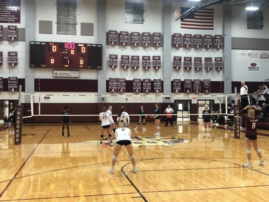 Girls Volleyball Plays in Playoffs